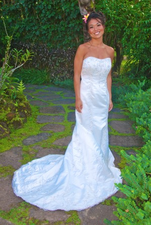 Stylish Kauai Beach Wedding, Kauai Wedding