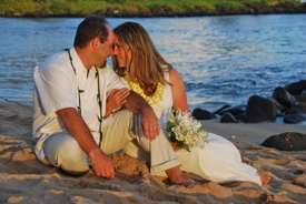 Casual Wedding Package, Kauai Wedding