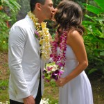 Plumeria and orchid leis