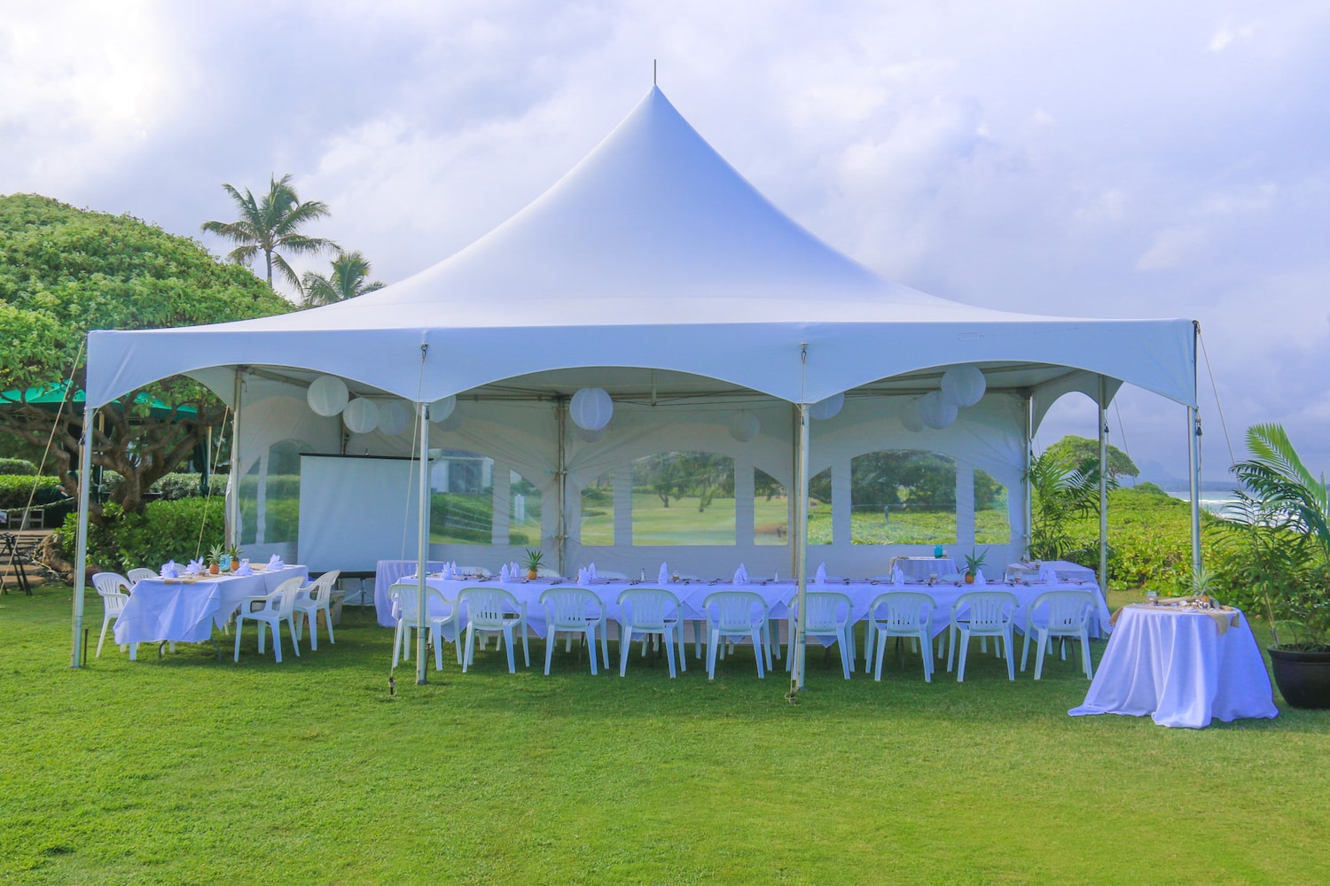 kauai wedding reception hotel garden and private venues