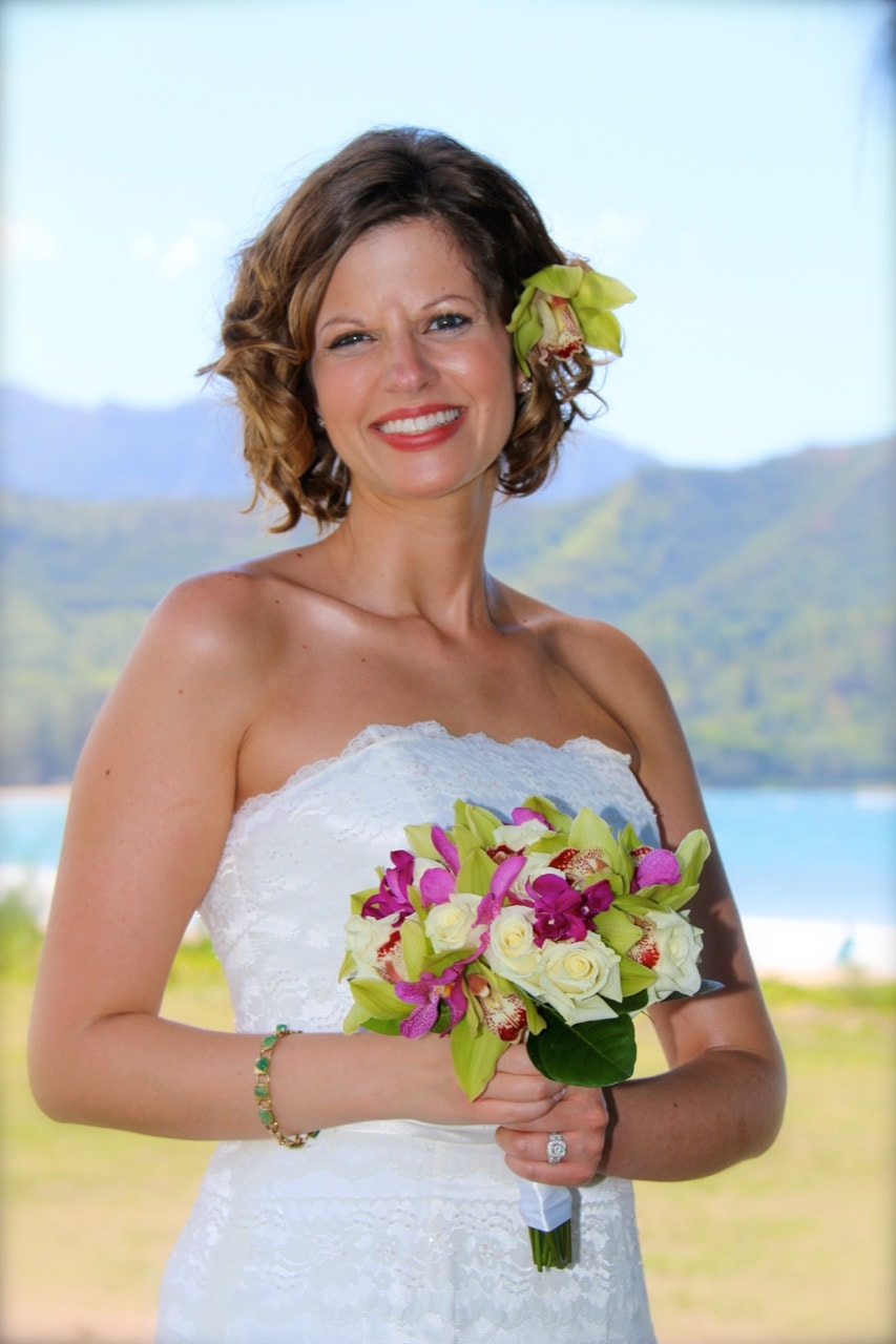 Elegant Wedding Package, Kauai Wedding